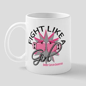 Licensed Fight Like a Girl 12.3 Mug