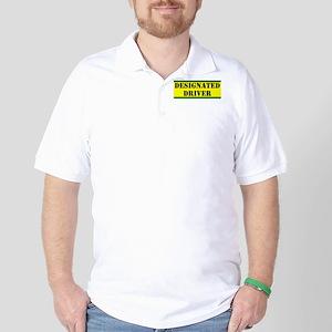Designated Driver Golf Shirt