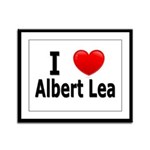I Love Albert Lea Framed Panel Print