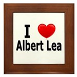 I Love Albert Lea Framed Tile