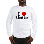 I Love Albert Lea Long Sleeve T-Shirt