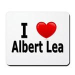 I Love Albert Lea Mousepad