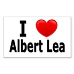 I Love Albert Lea Sticker (Rectangle 50 pk)