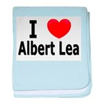 I Love Albert Lea baby blanket