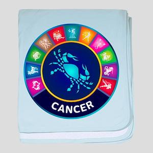 Cancer Sign baby blanket