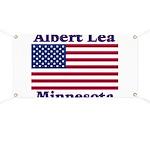 Albert Lea US Flag Banner