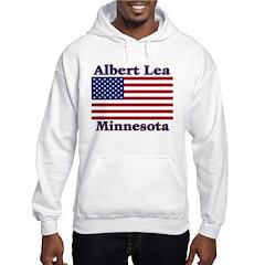 Albert Lea US Flag Hoodie