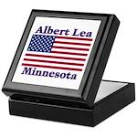 Albert Lea US Flag Keepsake Box