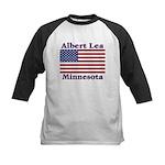 Albert Lea US Flag Kids Baseball Jersey