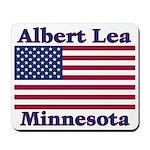 Albert Lea US Flag Mousepad