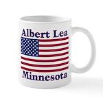 Albert Lea US Flag Mug