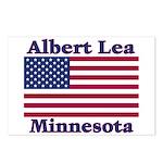 Albert Lea US Flag Postcards (Package of 8)