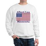 Albert Lea US Flag Sweatshirt