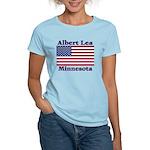 Albert Lea US Flag Women's Light T-Shirt