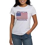Albert Lea US Flag Women's T-Shirt