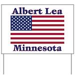 Albert Lea US Flag Yard Sign