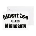Albert Lea Established 1856 Greeting Card