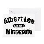 Albert Lea Established 1856 Greeting Cards (Pk of