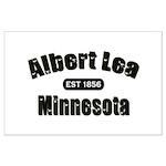 Albert Lea Established 1856 Large Poster