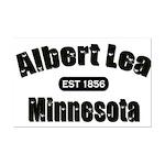 Albert Lea Established 1856 Mini Poster Print