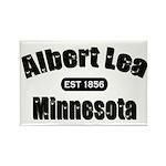 Albert Lea Established 1856 Rectangle Magnet