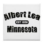 Albert Lea Established 1856 Tile Coaster