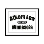 Albert Lea Established 1856 Framed Panel Print