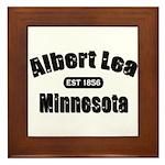 Albert Lea Established 1856 Framed Tile