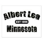 Albert Lea Established 1856 Small Poster