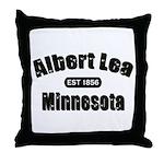 Albert Lea Established 1856 Throw Pillow