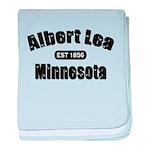 Albert Lea Established 1856 baby blanket