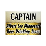 Albert Lea Beer Drinking Team Rectangle Magnet (10
