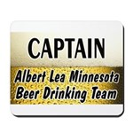 Albert Lea Beer Drinking Team Mousepad