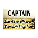Albert Lea Beer Drinking Team Mini Poster Print