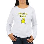 Albert Lea Chick Shop Women's Long Sleeve T-Shirt