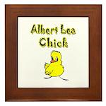 Albert Lea Chick Shop Framed Tile