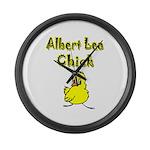 Albert Lea Chick Shop Large Wall Clock