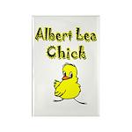 Albert Lea Chick Shop Rectangle Magnet (100 pack)