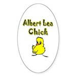 Albert Lea Chick Shop Sticker (Oval 10 pk)