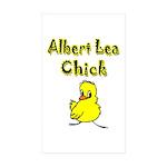 Albert Lea Chick Shop Sticker (Rectangle 10 pk)