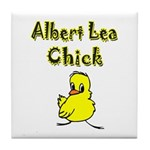 Albert Lea Chick Shop Tile Coaster