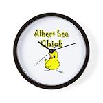Albert Lea Chick Shop Wall Clock