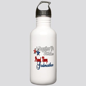 Navy Godmother Stainless Water Bottle 1.0L