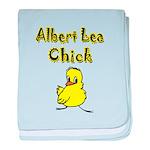 Albert Lea Chick baby blanket