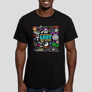 LOST Memories Men's Fitted T-Shirt (dark)