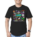 LOST Memories Men's Fitted T-Shirt (dark)