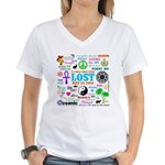 LOST Memories Women's V-Neck T-Shirt
