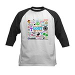 LOST Memories Kids Baseball Jersey