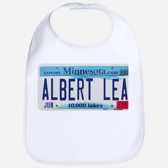 Albert Lea License Plate Bib