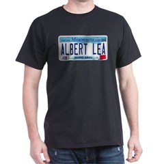 Albert Lea License Plate T-Shirt